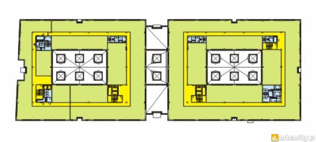 Rzut II i III piętra