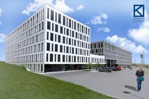 wizualizacje Kompleks biurowo-hotelarski Duda Transport&Logistic