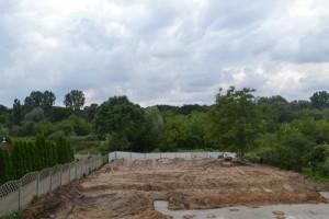 zdjęcie z budowy Przystań Warta