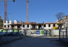 zdjęcie z budowy Paryski Zakątek