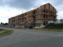 zdjęcie z budowy Osiedle Norwida