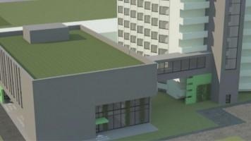 zdjęcie z budowy Blok Operacyjny Szpital MSWiA