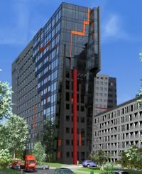 wizualizacje Millennium Towers Wrocław / MT3