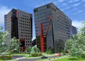wizualizacje Millennium Tower III