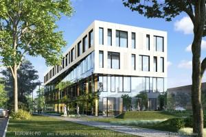 zdjęcie z budowy Biurowiec PID Polska