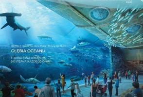 wizualizacje Oceanarium Nautilus Gdańsk