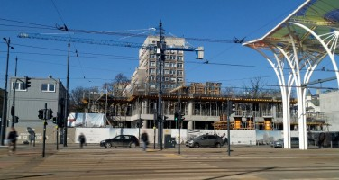 zdjęcie z budowy Hi Piotrkowska 155