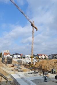 zdjęcie z budowy Enklawa Winogrady
