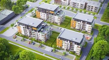 zdjęcie z budowy Osiedle Park Moniuszki