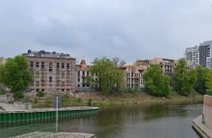 zdjęcie z przebudowy Bulwar Staromiejski