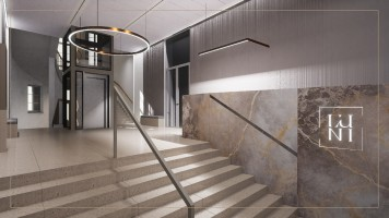 zdjęcie z przebudowy Biurowiec L'Uni