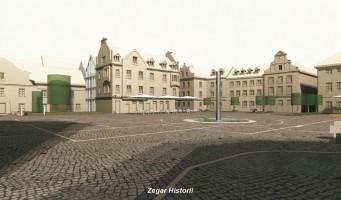 zdjęcie z przebudowy Plac Kolegiacki