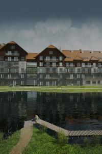 zdjęcie z budowy Linden Hotel & Resort