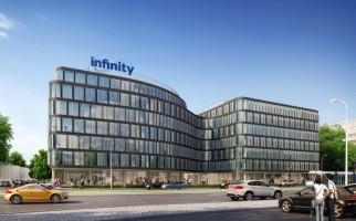 zdjęcie z budowy Biurowce Infinity