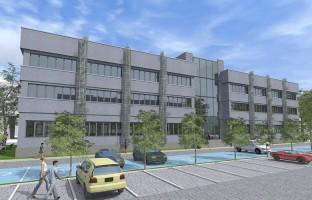zdjęcie z budowy Centrum Medycyny Senioralnej POSUM