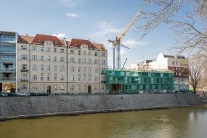zdjęcie z budowy Apartamentowiec Zyndrama