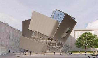 wizualizacje Łódź Architecture Center
