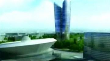 wizualizacje Rank Tower Center