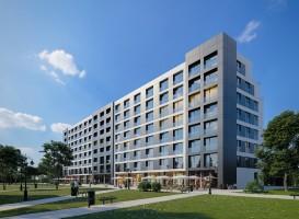 zdjęcie z budowy Hotel Staybridge Suites Warszawa Ursynów