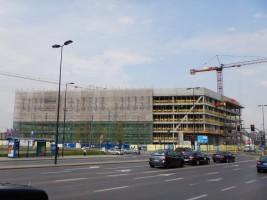 zdjęcie z budowy Biurowiec V.Offices
