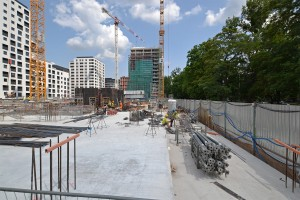 zdjęcie z budowy Centrum Południe