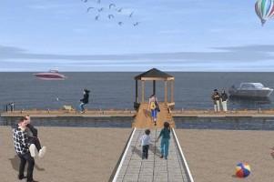 wizualizacje Kąpielisko Dąbie