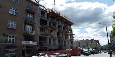 zdjęcie z budowy Rynek Wildecki 3