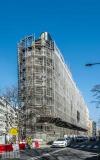zdjęcie z budowy Nobu Hotel Warsaw