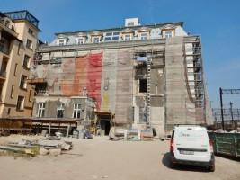 zdjęcie z przebudowy Hotel Lubicz 9