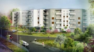 zdjęcie z budowy Victoria Apartamenty