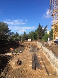 zdjęcie z budowy Piątkowska 103