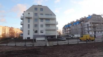 zdjęcie z budowy Osiedle Ułańskie