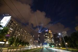 zdjęcie z budowy PHN Tower