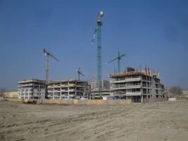 zdjęcie z budowy Centro Ursus