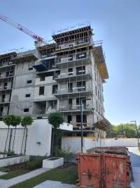 zdjęcie z budowy Parkur Residence