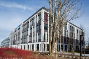 zdjęcie z budowy Poleczki Business Park