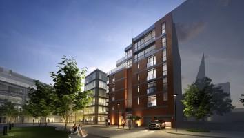 zdjęcie z budowy Apartamenty Powiśle 01