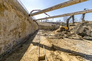 zdjęcie z budowy Polanka Niemena