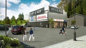 zdjęcie z budowy EDS Retail Park