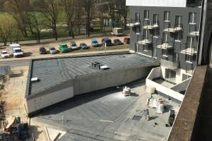 zdjęcie z budowy Baildomb