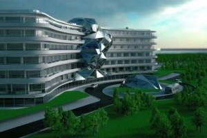 wizualizacje Hotel Gołębiewski