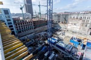 zdjęcie z budowy Biura przy Warzelni