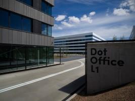 zdjęcie z budowy Dot Office
