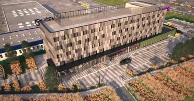 zdjęcie z budowy Hotel Moxy