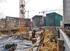 zdjęcie z budowy Fabryczna Office Park I
