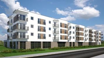 wizualizacje Osiedle mieszkaniowe Koszalińska