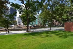 zdjęcie z przebudowy Kompleks mieszkaniowo-handlowo-biurowy