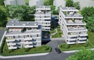 zdjęcie z budowy Zielony Sołacz Tarasy