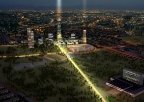 wizualizacje Park Światła