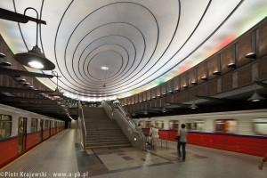zdjęcie Stacja metra A-18 Plac Wilsona